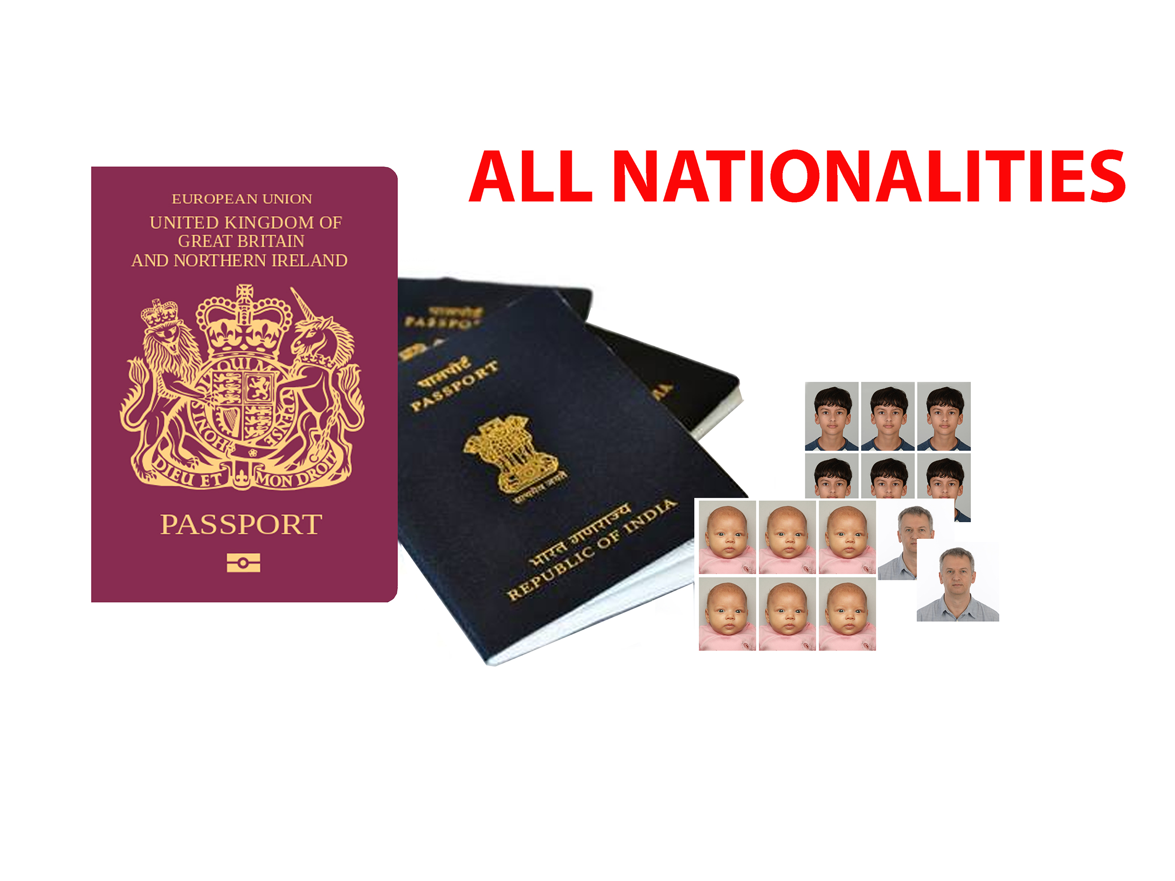 Passport & Id Photography St Neots Cambridgeshire