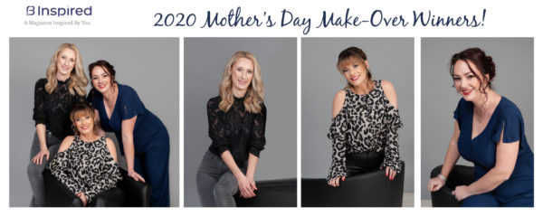Binspired Magazine – Mother's Day Make-Over Competition Winners – 2020